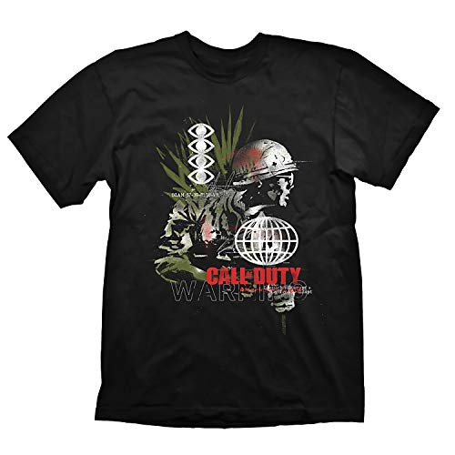 """Call of Duty: Cold War T-Shirt """"Army Comp"""" Black Size XXL"""