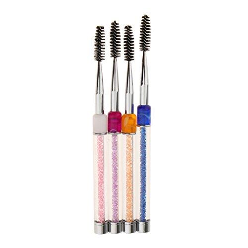 perfeclan Packs 4pcs Extension De Pinceau Applicateur Brosse à Cils Réutilisable Cils Make Up