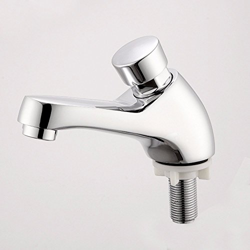 Review Of SUNQIAN-Faucet, press type faucet, bathroom basin faucet delay, single cold faucet washbas...