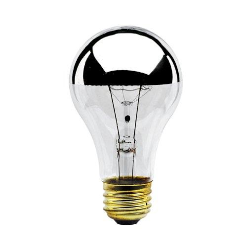 Half Chrome 60W Light Bulb (2 Pack)