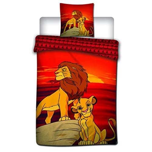 The Lion King Duvet Cover, The Birth of a King, Child, 140 x 200 cm, Single, 100% Microfibre, Limited Edition