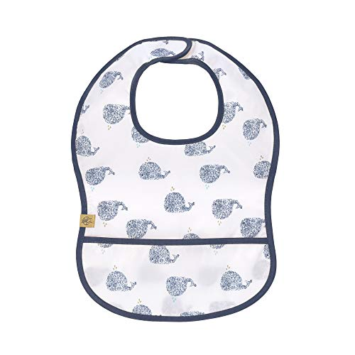 Lässig Babero impermeable para bebé, con cierre de velcro