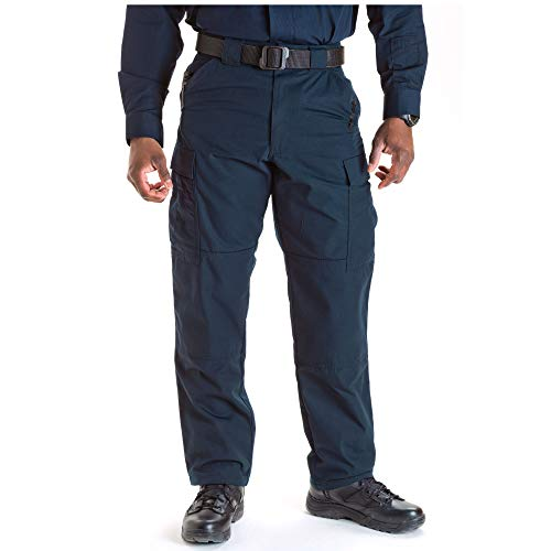 5.11 Tactical Men's Ripstop TDU Pants, Dark Navy, Large