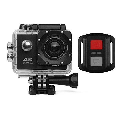 Cámara de acción HD 720P/1080P/4K Cámara deportiva - HD WIFI Cámara subacuática...