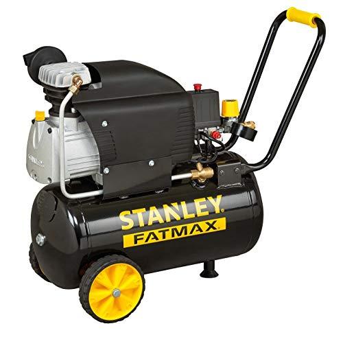 Stanley 2017209 compressor D 211/8/24S (compact, elektrisch; druk 8bar; 28 kg; tank 24 l; motorvermogen: 2 pk)