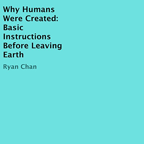 Why Humans Were Created audiobook cover art