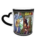 Playball Bulma Tazza da caffè magica divertente arte caffè tazze sensibili al calore colore cambiando tazza in ceramica cielo regali personalizzati