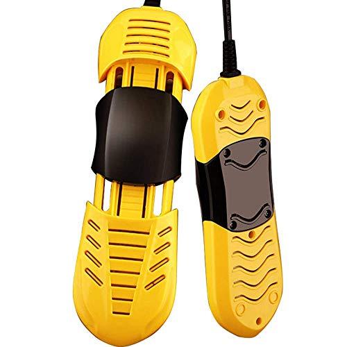 AIERMO Calentador retráctil portátil, Secador de Zapatos eléctrico, Calentador de Zapatos de Arranque con Temporizador para Calcetines de Guantes