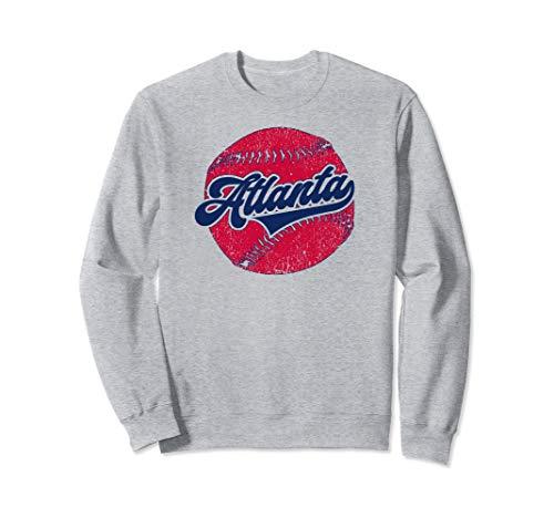 Atlanta Baseball | Vintage ATL Pride Brave Retro Gift Sweatshirt