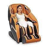 JSB MZ16 Luxury 3D Full Body Massage Chair (Space Saving Design) (Golden)