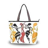 Eslifey - Bolso de tela para mujer multicolor L