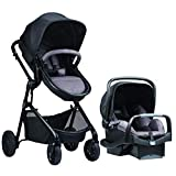 Pivot Modular Travel System with Safemax Rear-Facing Infant Car Seat from Evenflo