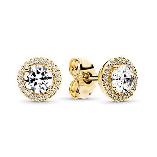 Los nuevos pendientes de corona, nuevas joyas de aleación creativas, accesorios para damas de moda europea y americana-21