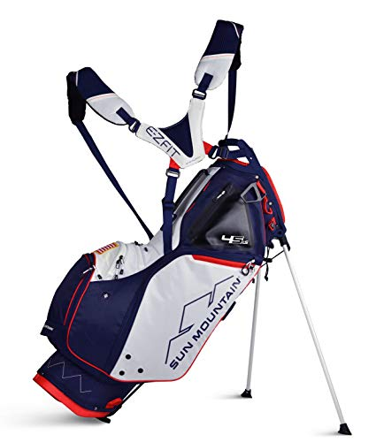 Sun Mountain 02SM260 NVRD 2019 45 Ls Stand Bag Navy/Red Large