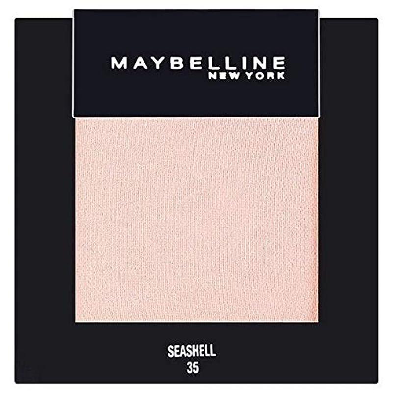狐メモなので[Maybelline ] メイベリンカラーショーシングルアイシャドウ35貝殻 - Maybelline Color Show Single Eyeshadow 35 Seashell [並行輸入品]