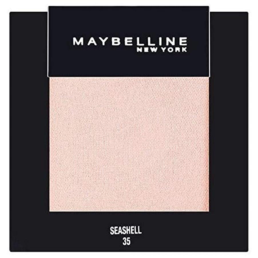 パンサーシャンプー化粧[Maybelline ] メイベリンカラーショーシングルアイシャドウ35貝殻 - Maybelline Color Show Single Eyeshadow 35 Seashell [並行輸入品]