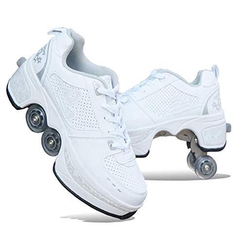 NOLLY Rollschuh Roller Skates Lauflernschuhe,Sneakers,2in1 Mehrzweckschuhe...