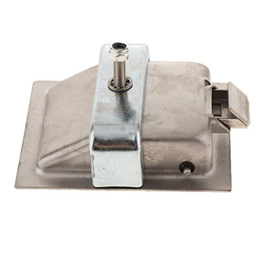 non-brand Sharplace Boîte à Outils D'ingénierie De Garnitures De Verrouillage De Panneau - #1 85x67x25mm