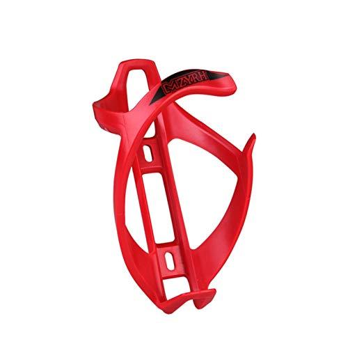 MOVKZACV Soporte para botella de agua para bicicleta, 2 piezas ABS para botella de agua, jaula para botellas de carretera, accesorios para bicicleta de montaña, bicicleta híbrida y bicicleta plegable