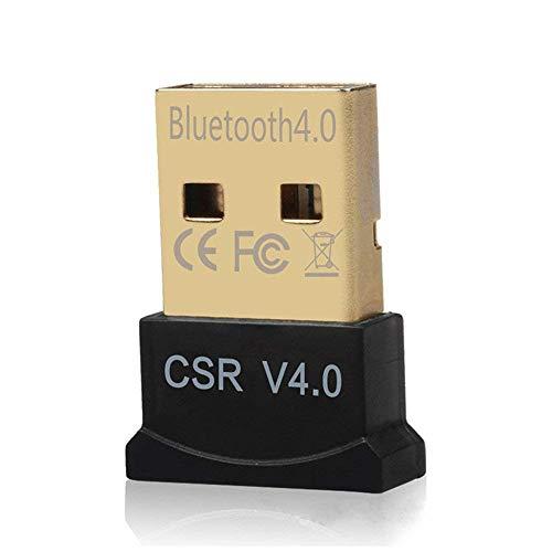 Tianlong Mini Bluetooth Adapter Bluetooth Transmitter, Bluetooth 4.0 USB 2.0 CSR 4.0 Receiver Dongle Adapter, for PC Laptop Win XP Vista 7 8 10