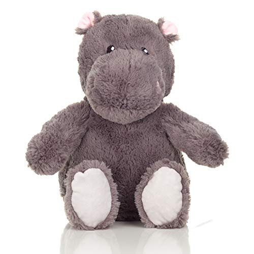 Squirrel Products Cuddle Mates Stuffed Animal Plush Toy - 14 Inch - Hippopotamus