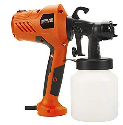 Gnanex Electric Paint Sprayer High-Pressure Airless Spray Gun Machine for Painting Cars, Wood, Furniture, Wall & Woodworking (Orange, Plastic)
