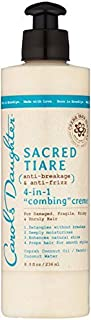 Carols Daughter Sacred Tiare Anti-Breakage & Anti-Frizz 4-In-1 Combing Creme, 8 Ounce by Carol's Daughter