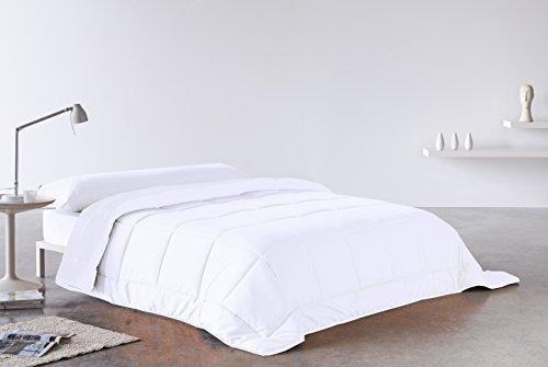 Secaneta Stilia, Edredón Doble Capa Divisible, 4 Estaciones, Relleno Nórdico Blanco, (Cama 105 (180X220), 180 X 220 Cm