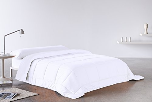 Secaneta Stilia, Edredón Doble Capa Divisible, 4 Estaciones, Relleno Nórdico Blanco, (Cama 135 (220x220), 220 x 220 cm
