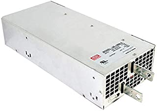 Mean Well USA SE-1000-48 Power Supply; AC-DC; 48V@20.8A; 100-132/200-264V In; Enclosed; Panel Mount; SE Series