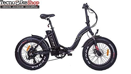 Tecnobike Shop elektrische fiets E-bike vouwbaar LEM Fat-Bike Folding F 250W 36V Litio