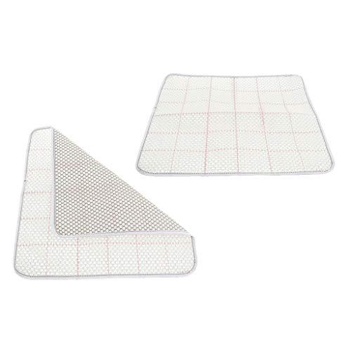 Sharplace Knüpfteppich-Leinwand Netzstoff für Teppiche Knüpfen, Rug Canvas Latch Hook Canvas