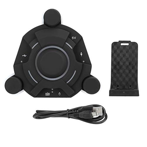 zhuolong K2 Teclado Ratón Convertidor Adaptador Bluetooth Mejor Control Accesorio para Equipo de Juego