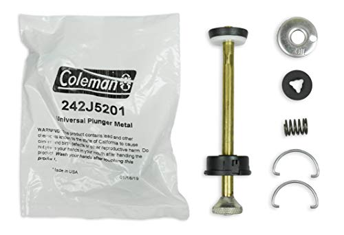 Coleman Universal Plunger Metal Part #: 242J5201 ; 4 Inch Long Plunger Pump Repair Kit ; Compatible Stoves & Lanterns