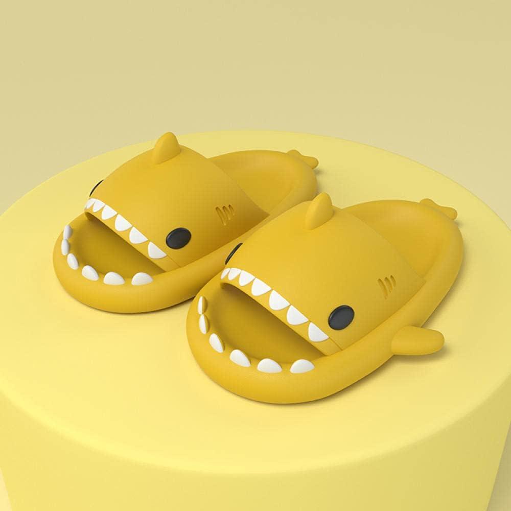Kirin-1 Mens flip Flops,Men's Slippers Home Female Summer Home Bathroom Bathing-180-18cm_Yellow