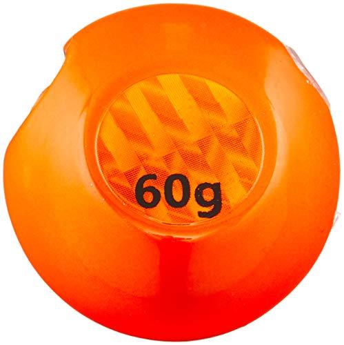メジャークラフト タイラバ 替乃実(カエノミ) TM-HEAD60/#1 #1オレンジ/オレンジ 60g