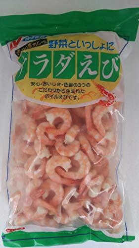 ニチレイ サラダ えび ( ボイル海老 ) 尾付き ( 51-60サイズ ) 1kg×10P 冷凍 業務用