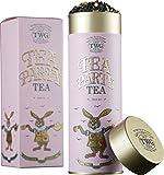 TWG Tea | Tea Party Tea, blend de té negro de hoja suelta en lata de regalo de alta costura de 100 g