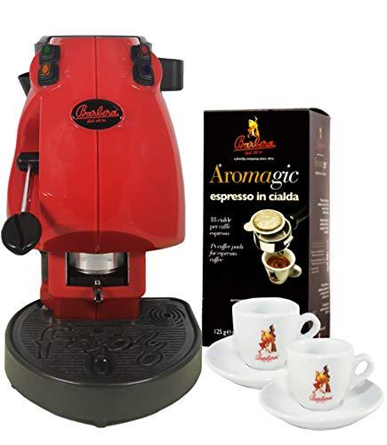 macchina caffe didiesse MACCHINA DA CAFFÈ FROG CON PORTA ACCESSORI + 18 CIALDE AROMAGIC + 2 TAZZINE