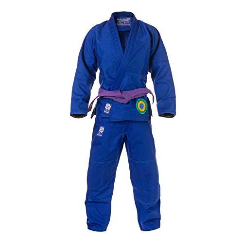 Role Bonito Kimono Jiu-Jitsu Brasileño Azul Essential (BJJ Gi) Talla A2