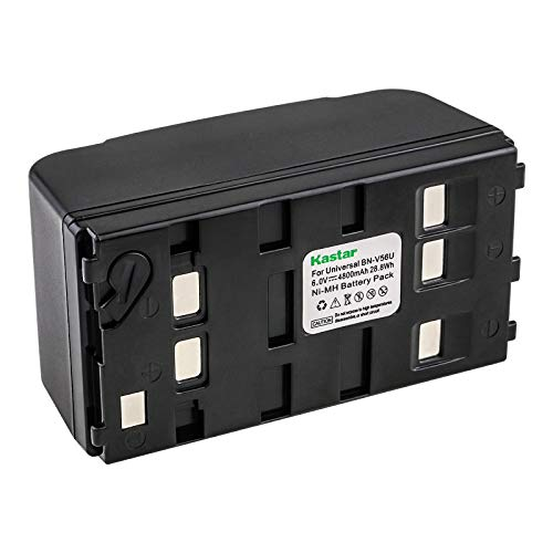 Kastar Universal Rechargeable Ni-MH Battery Replacement for Duracell DR11 PC-DR11 DR11AA, Sony NP-55H NP-77H NP-98H, Panasonic HHR-V20A/1B HHR-V40A/1B, JVC BN-V11U BN-V20U BN-V22U BN-V25U Battery