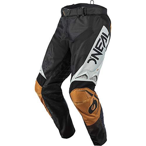 O'NEAL | Motocross-Hose | Enduro Motorrad | Stromlinienförmiges und leichtes Design, Luftdurchlässiges Mesh-Innenfutter| Hardwear Pants Surge | Erwachsene | Schwarz Braun | Größe 36/52