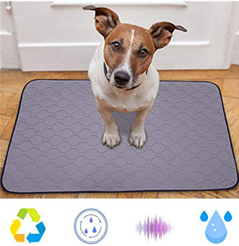 Nifogo Toallitas de Entrenamiento para Mascotas,Empapadores de adiestramiento para Perros,para Atraer los Cachorros y Simplificar el Entrenamiento,Ultraabsorbente (2PCS, 70 * 50cm)
