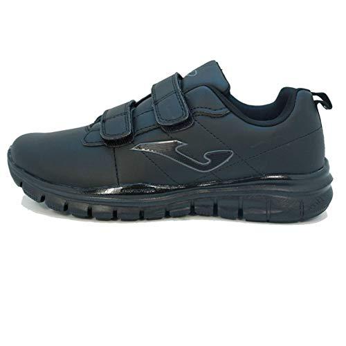 Joma Tempo Velcro, Zapatillas Hombre Negras