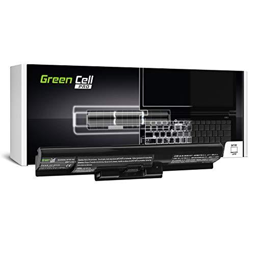 Green Cell® PRO Serie VGP-BPS35A Batería para Sony Vaio SVF14 SVF15 Fit 14E 15E SVF1521C6EW SVF1521F2EW SVF1521G6EW SVF1521K1EW Ordenador (Las Celdas Originales Samsung SDI, 4 Celdas, 2600mAh, Negro)
