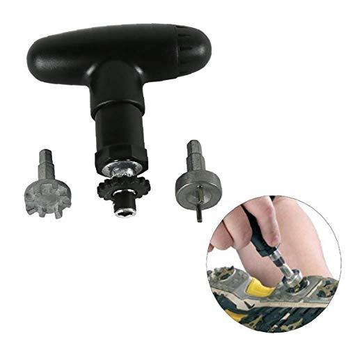 golfschoenen ratelsleutel Golf Cleat Remover Golf Klamp Ripper Spike Ratchet Handle Wrench Maintenance Tool Accessory