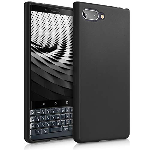 kwmobile Hülle kompatibel mit BlackBerry KEYtwo LE (Key2 LE) - Hülle Handyhülle - Handy Hülle in Schwarz matt