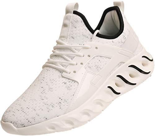 Tênis masculino de amortecimento altamente energizante Bronax tamanho 36 a 46, 1_white, 12