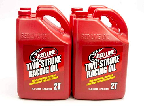 Red Line 40605 2-Stroke Racing Motor Oil - 1 Gallon,(Pack of 4)