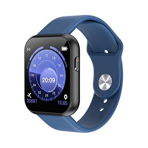 Multifunktionsuhr mit Touchscreen, Sportarmbanduhr, Smartwatch für den Außenbereich, USB-Aufladung, mehrere Sportmodi, Eine Gute Wahl für den Sport-Blue